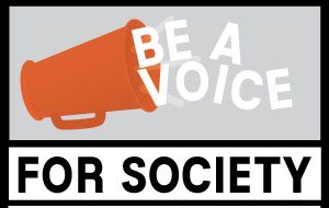 Be A Voice For Society ad by Law Street Media