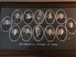 The class that entered law school in 1915 had ten students: eight men and two women.