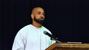Devon Adams, speaking at the Concerned Lifers Organization Convention in 2015 at Monroe Correctio...