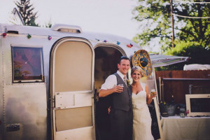 Dave and Meghaan Cummings celebrated their wedding at the Tin Cantina. The owner Deanna Wohlgemut...