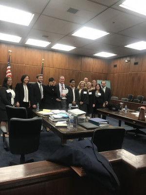 Jessup International Moot Court team 2017