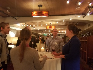 Mentors and mentees mingle at awards event