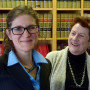 Judge Jane Levy JD '04, MA '11 with her mother Susan Conway