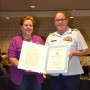 Kathryn Smith Root receives Public Service Commendation