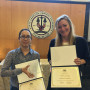 3Ls Cecilia Anguiano and Danielle Hennessey placed third in the National ABA Client Counseling Co...