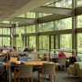 Tryon Creek State Park provides a tranquil backdrop for those studying in Wood Hall.