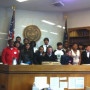 Summer Law Camp students visit Judge McShane