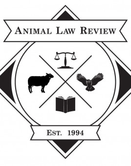 The Animal Law Review Logo.