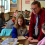 Don Brown teaches his fourth-grade class about government by having them create a mock United Nat...