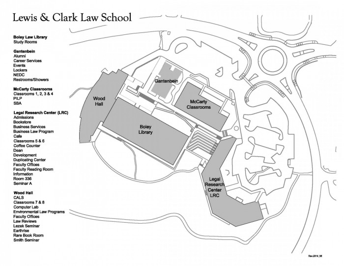 Law School Map - Law Admissions - Law School - Lewis & Clark