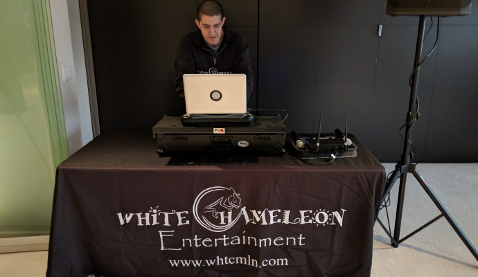 White Chameleon brings the music to our 2019 Open House