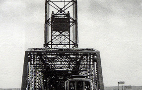 Interstate Bridge in 1917