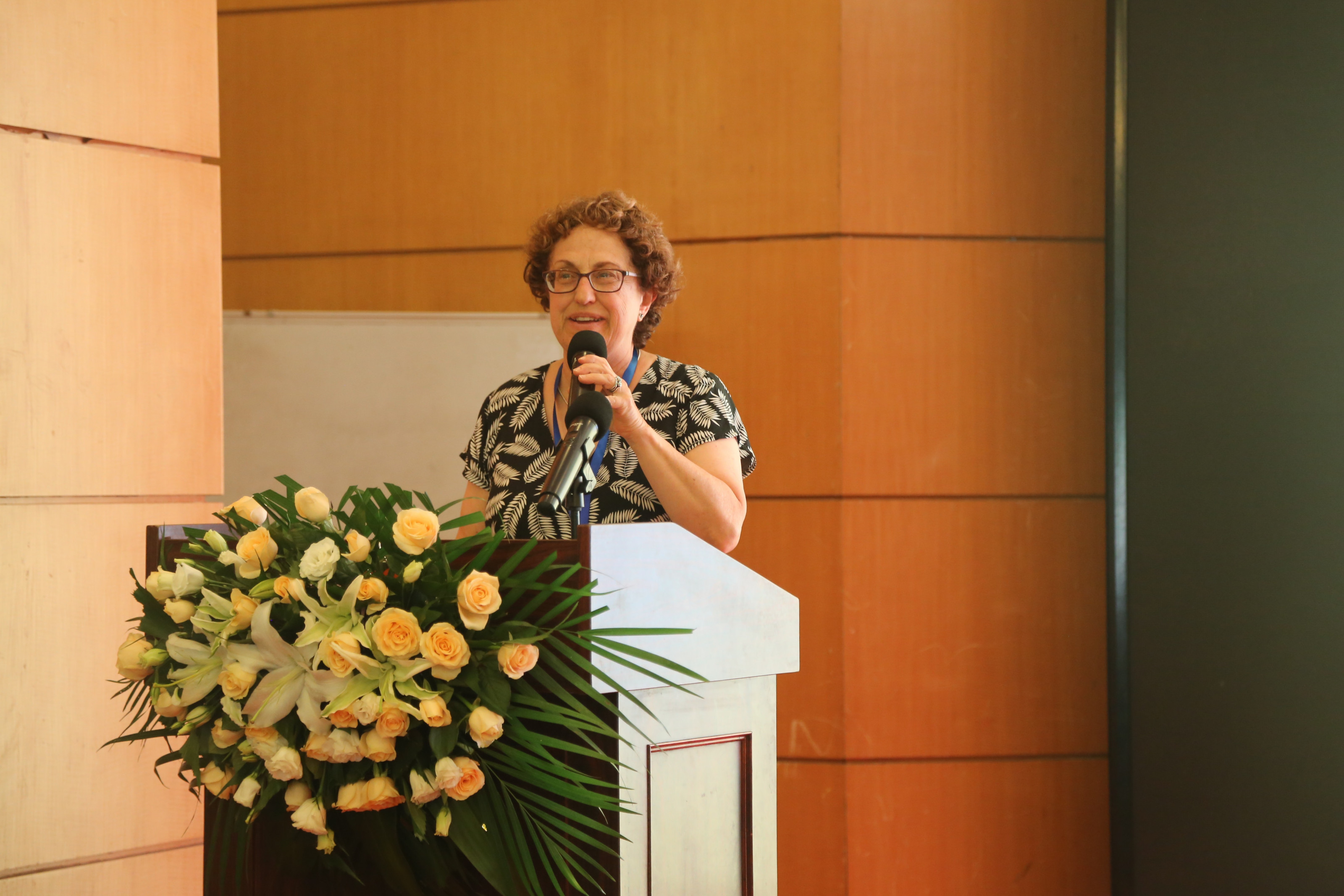Joyce Tischler, Animal Law Professor of Practice speaking at the 1st China Animal Law Forum.