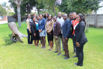 Zimbabwe's first animal law training participants by Speak Out For Animals.