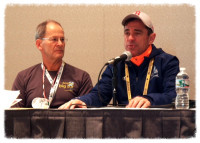 Wilson and Dave McGillivray, Boston Marathon Event Director