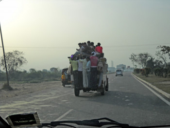 Holi revelers heading to Agra