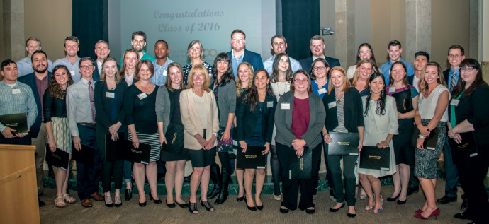 Cornelius Society members inducted in 2016