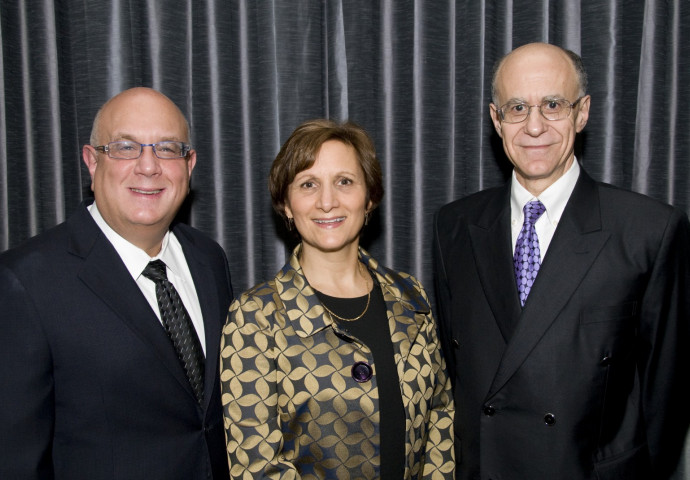 The Hon. Michael H. Simon, U.S. Rep. Suzanne Bonamici, and Dean and Jordan D. Schnitzer Professor...