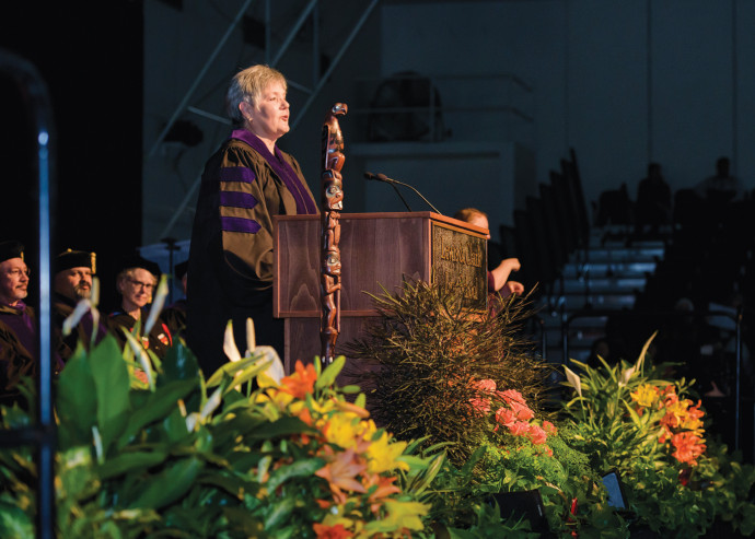 Judge Anna Brown '80