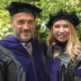 Matt Bergman '89 and daughter Madeline Bergman '19