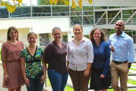 The GEI team, from left: Amelia Schlusser, Joni Sliger, Kristen Kortick, Andrea Lang, Melissa Powers, and Brandon Kline