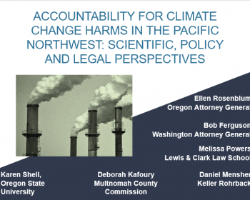 Accountability for Climate Change event