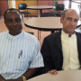 Dr./Fr. Paschal Kabura, from Uganda, and Brother Mathew Panathanath, from India, visit our MCFT p...