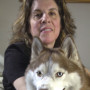 DENVER, CO, FEBRUARY 13, 2006 - Denver Deputy District Attorney Diane Balkin with her pets Glenda...