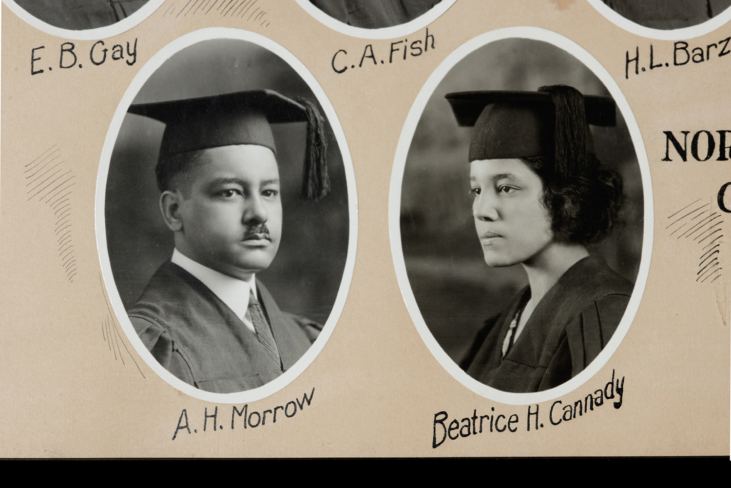 A.H. Morrow and Beatrice H. Cannady, NWCL Class of 1922