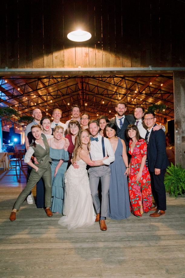 Jeff Speir JD '15 and Jess Pezley JD '14 wedding party