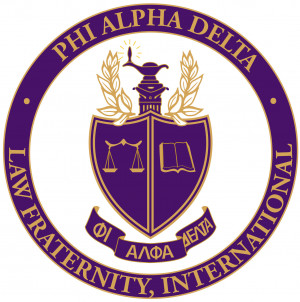 Phi Alpha Delta International Color Logo