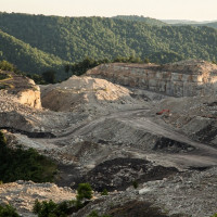Mountaintop Removal Mining in West Virginia. Photo by David Ste