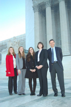 Earthrise Team at US Supreme Court