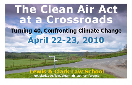 Clean Air Act conference web image