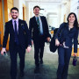 Lewis & Clark Law School's 2019 environmental law moot court team of Ben Scissors (2L),...
