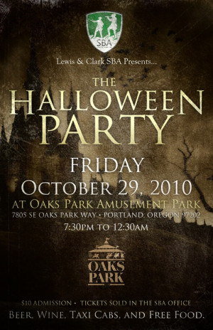 SBA Halloween Party - Student Bar Association - Law School - Lewis ...